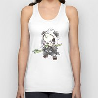 projectrocket Tank Tops featuring Skadoosh by Randy C