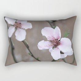 Peach Blossoms Rectangular Pillow