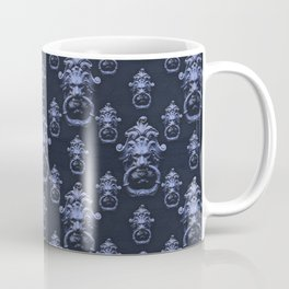 Lyon Head Ornate Motif Pattern Coffee Mug
