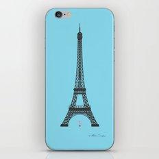 Eiffel Tower - First Kiss iPhone & iPod Skin