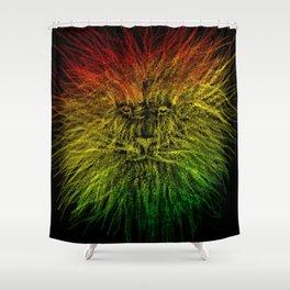 LION-O-CHAIN  Shower Curtain