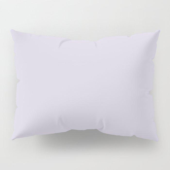 Blue Haze Solid Color Pillow Sham