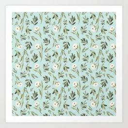 Minted Cotton Art Print