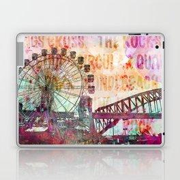 Sydney Luna Park Ferris Wheel Laptop & iPad Skin
