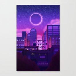 Behind the Market Canvas Print