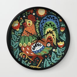 Chanticleer Wall Clock