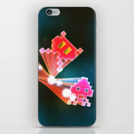 Invaded Space iPhone Skin