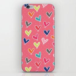 Blow Me One Last Kiss - Pink iPhone Skin