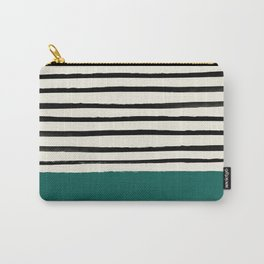Jungle x Stripes Carry-All Pouch