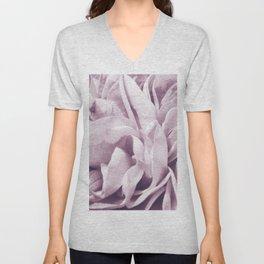 Light Purple Dream #1 #rose #floral #decor #art #society6 Unisex V-Neck