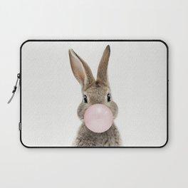 Bubble Gum Bunny Laptop Sleeve