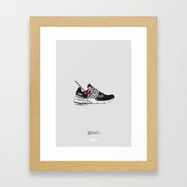 "Off White c/o ""Air Presto"" Framed Art Print"