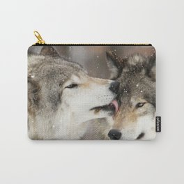 Wolf Kisses Carry-All Pouch