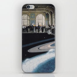 Space tourism iPhone Skin