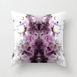 Enchanted floral Throw Pillow