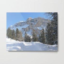 Mountain Dolomiti Metal Print