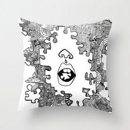 piece  Throw Pillow