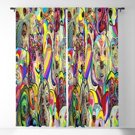 Dogs, DOGS, DOGS!! Blackout Curtain