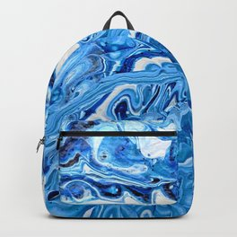 Blue Teeth Backpack