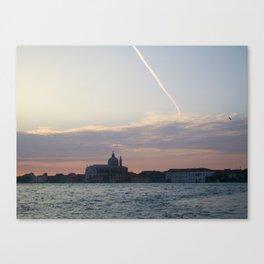 7:00am Giudecca Canvas Print