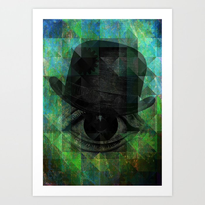 A VERY PRIVATE EYE Art Print
