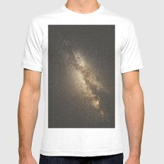 Galaxy IV Mens Fitted Tee White MEDIUM