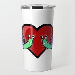 Snail Couple Travel Mug