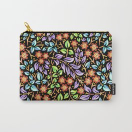 Filigree Floral smaller scale Carry-All Pouch