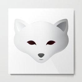 Winter Snow Fox Metal Print
