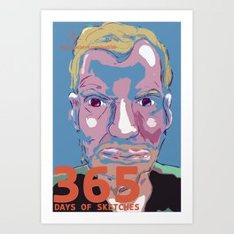 365 Days of Sketches #132 Art Print