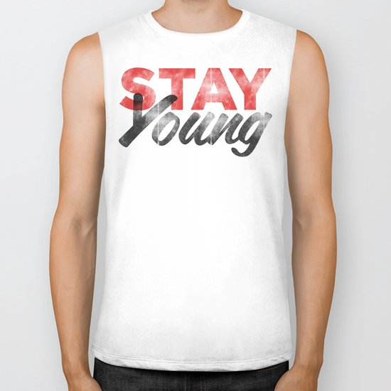 Stay Young Biker Tank