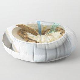 ce cream for dessert Floor Pillow