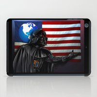 new order iPad Cases featuring Vader's New World Order by Mark Matlock