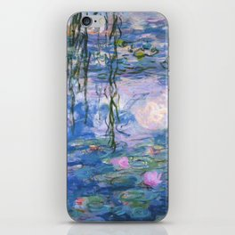 Claude Monet - Water lilies iPhone Skin