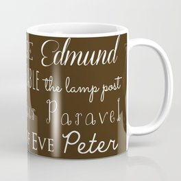 Narnia Celebration - Mocha Coffee Mug