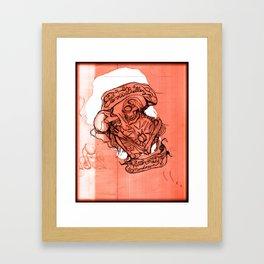 Eterna Belleza Framed Art Print
