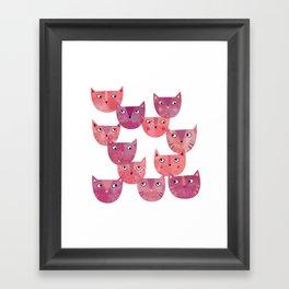 Cat Power Framed Art Print