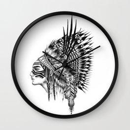 INDIANS - 2 Wall Clock