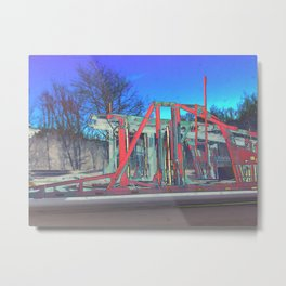 HTC Series 3 Metal Print