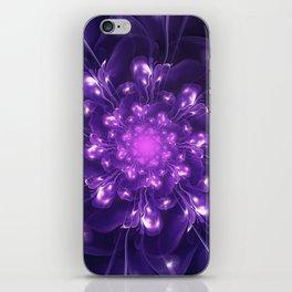 Serenity - Floral Bloom Fractal iPhone Skin