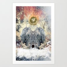 Static 44 Promotional Poster Art Print