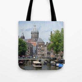 Sunny Amsterdam Tote Bag