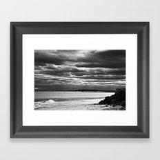 Dreary Waters Framed Art Print