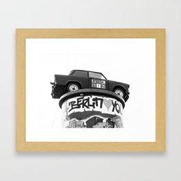 Love You Berlin Framed Art Print