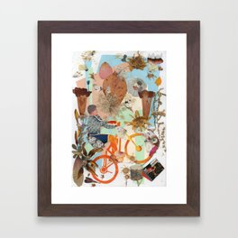 Bicycle. Framed Art Print
