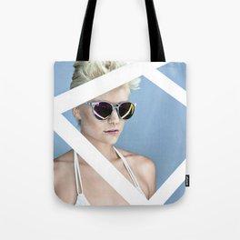 Reckess Blue Tote Bag