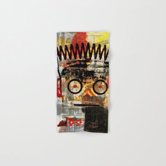 Basquiat's Robot Hand & Bath Towel