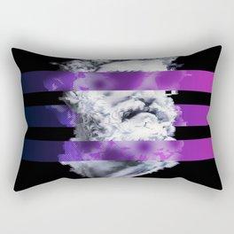Zues Glitch Rectangular Pillow