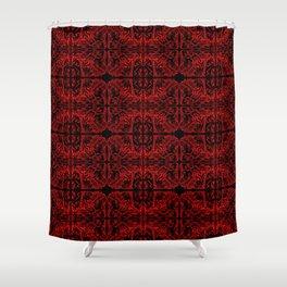 Demon Skin Shower Curtain