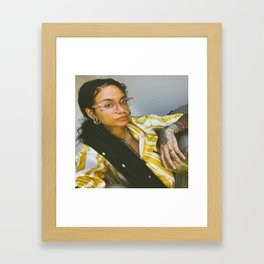 Kehlani 26 Framed Art Print